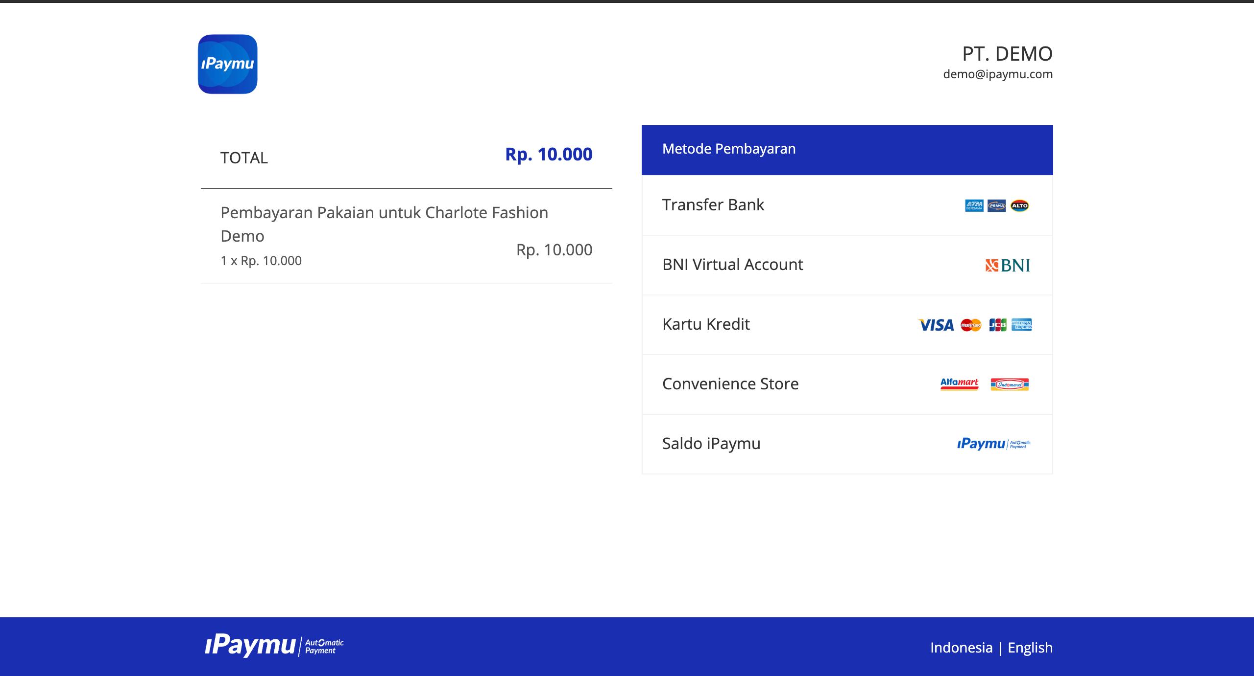 Cara Integrasi Webstore – Tingkat Lanjut - iPaymu: Payment
